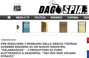 Anafe – Dagospia: botta e risposta sulle sigaretteelettroniche