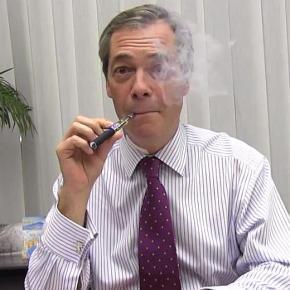 Nigel Farage (UKIP) contro le tasse sulle sigaretteelettroniche