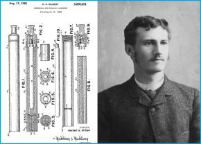 Herbert Gilbert, l'uomo del primo brevettoe-cig