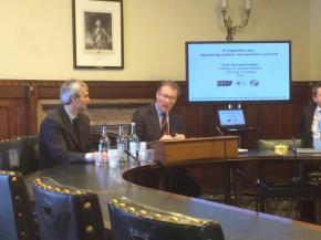 Parlamento inglese, il prof. Polosa presenta gli studi sullee-cig