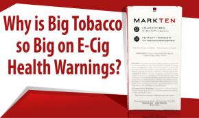 Se si parla di e-cig, Big Tobacco si preoccupa per la tua salute(Reuters)