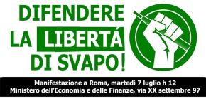 """""""L'ultimo treno"""". EFVI in piazza a Roma martedì 7luglio"""
