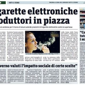 Sigarette elettronica in piazza. Ma almeno qualcuno investe |Metro