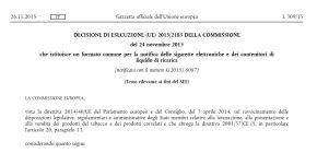 Sigarette elettroniche, ratificata la Decisione UE sul formato per la notifica, in attesa del Data EntryGate