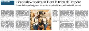 «Vapitaly»: sbarca in Fiera la tribù del vapore | Corriere diVerona