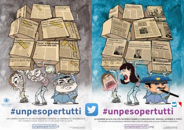 #unpesopertutti twitter
