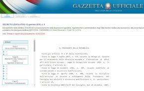 Direttiva tabacco, pubblicato il D.Lgs. in GazzettaUfficiale