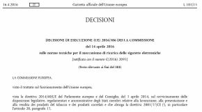 Commissione UE, pubblicate le norme tecniche per il meccanismo di ricarica dellee-cig