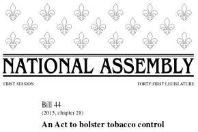 Quebec, secondo il settore del vaping sono incostituzionali le nuove normeanti-tabagismo