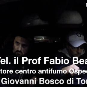 """Prof. Beatrice intervistato dallo Zoo di Radio 105: """"Le e-cig sono meno dannose dellesigarette"""""""