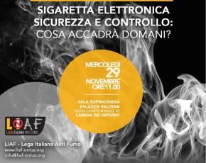 Sigarette elettroniche. Soluzioni concrete per risollevare lasituazione